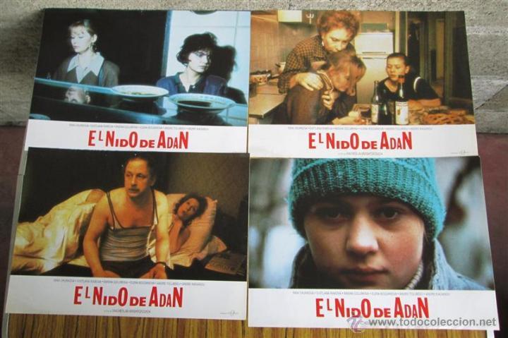 Cine: 8 foto cromos + cartel --- EL NIDO DE ADAN -- Inna churikov, Svetlana Ribova - Foto 2 - 45317805