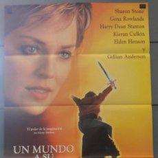 Cine: UN MUNDO A SU MEDIDA, CARTEL DE CINE ORIGINAL 70X100 APROX (2892). Lote 45515456