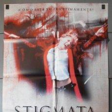 Cine: STIGMATA, CARTEL DE CINE ORIGINAL 70X100 APROX (3311). Lote 45515790