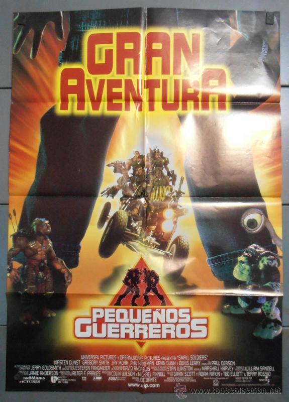 GRAN AVENTURA (PEQUEÑOS GUERREROS), CARTEL DE CINE ORIGINAL 70X100 APROX (3469) (Cine - Posters y Carteles - Infantil)