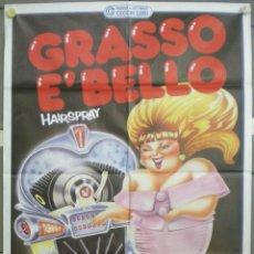 Cine: QM76 HAIRSPRAY JOHN WATERS DIVINE RICKI LAKE DEBBIE HARRY POSTER ORIGINAL ITALIANO 100X140. Lote 60887642