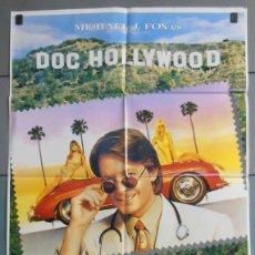 Cine: DOC HOLLYWOOD, CARTEL DE CINE ORIGINAL 70X100 APROX (3933). Lote 45588721