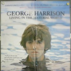 Cine: QN03 GEORGE HARRISON THE BEATLES LIVING IN THE MATERIAL WORLD POSTER ORIGINAL ITALIANO 100X140. Lote 45597939