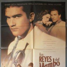 Cinema: LOS REYES DEL MAMBO,A.BANDERAS CARTEL DE CINE ORIGINAL 70X100 APROX (4201). Lote 184280122
