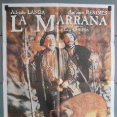 Cine: LA MARRANA,ALFREDO LANDA, ANTONIO RESINES CARTEL DE CINE ORIGINAL 70X100 APROX (4488). Lote 45612965