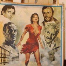 Cine: CARTEL CINE, LIBERTAD AMOR MIO, DE CLAUDIA CARDINALE, ORIGINAL, DE 100 X 70. Lote 45632893