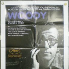 Cine: QN36 WOODY ALLEN ROBERT B WEIDE DOCUMENTAL POSTER ORIGINAL ITALIANO 100X140. Lote 45645138