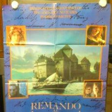 Cine: REMANDO AL VIENTO CARTEL ORIGINAL 100 CM X 70 CM AÑO 1988. Lote 45647209