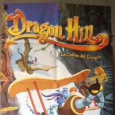 Cine: DRAGON HILL, CARTEL DE CINE ORIGINAL 70X100 APROX (5899). Lote 45670129