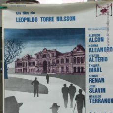 Cine: CARTEL ORIGINAL PELIKCULA LOS SIETE LOCOS 1976, ALTAMIRA FILM. Lote 45680497