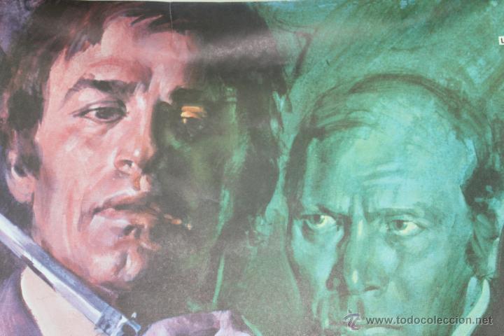 Cine: CARTEL ORIGINAL PELICULA EL TESTIGO DEBE CALLAR 1978 LEON FILM - Foto 3 - 45680646