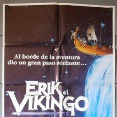 Cinema: ERIK EL VIKINGO, CARTEL DE CINE ORIGINAL 70X100 APROX (6013). Lote 45682325