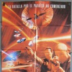 Cine: STAR TREK INSURRECCION, CARTEL DE CINE ORIGINAL 70X100 APROX (6410). Lote 45682764