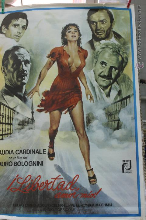 Cine: CINE, LIBERTAD AMOR MIO, ESTRENO, CLAUDIA CARDINALE 1977 CARTEL - Foto 2 - 45684365