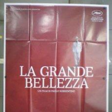 Cine: QN84 LA GRAN BELLEZA PAOLO SORRENTINO POSTER ORIGINAL ITALIANO 140X200. Lote 147808101