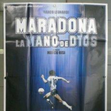 Cinema: QN70 MARADONA LA MANO DE DIOS FUTBOL POSTER ORIGINAL ITALIANO 140X200. Lote 45700592
