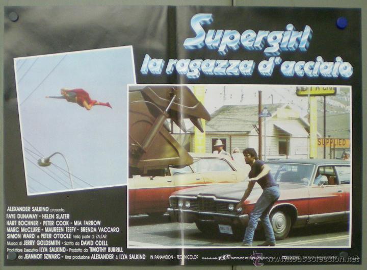 Cine: QO05 SUPERGIRL HELEN SLATER SET 8 POSTERS ORIGINALES ITALIANOS 47X68 - Foto 5 - 45721394
