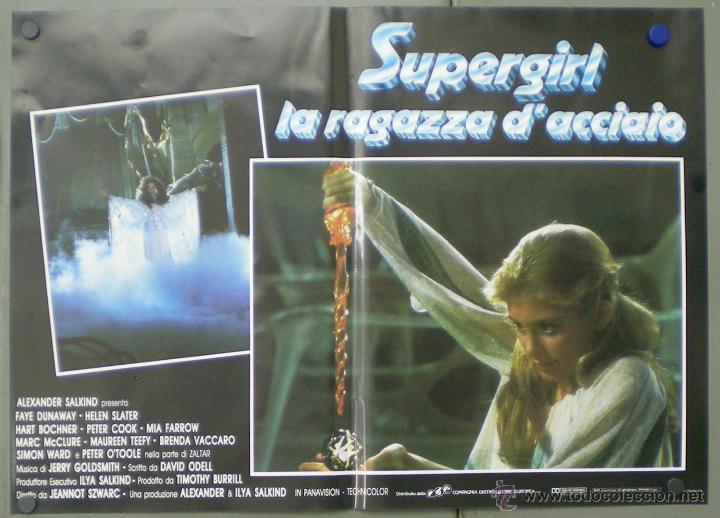Cine: QO05 SUPERGIRL HELEN SLATER SET 8 POSTERS ORIGINALES ITALIANOS 47X68 - Foto 7 - 45721394