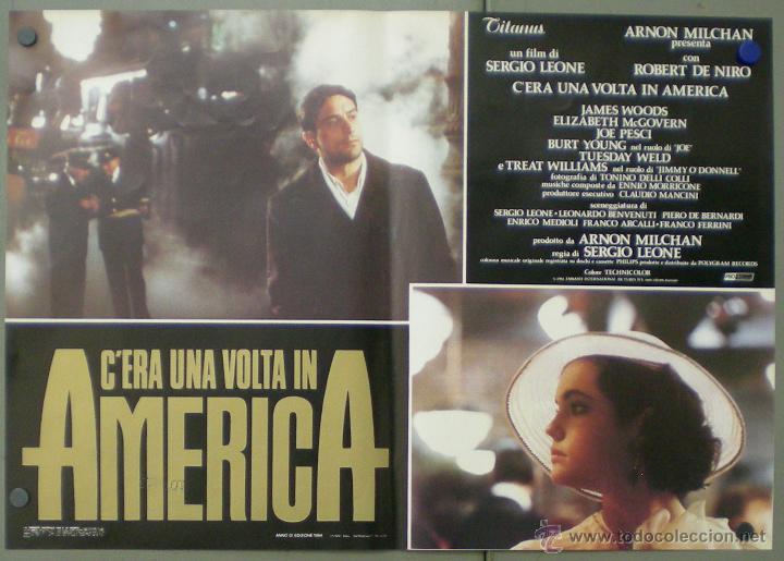 Cine: QO04 ERASE UNA VEZ EN AMERICA SERGIO LEONE ROBERT DE NIRO SET 10 POSTERS ORIGINAL ITALIANO 47X68 - Foto 3 - 45721632