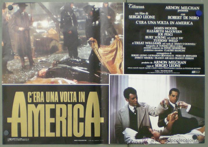 Cine: QO04 ERASE UNA VEZ EN AMERICA SERGIO LEONE ROBERT DE NIRO SET 10 POSTERS ORIGINAL ITALIANO 47X68 - Foto 6 - 45721632