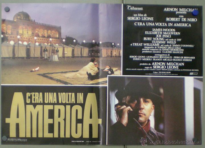 Cine: QO04 ERASE UNA VEZ EN AMERICA SERGIO LEONE ROBERT DE NIRO SET 10 POSTERS ORIGINAL ITALIANO 47X68 - Foto 7 - 45721632