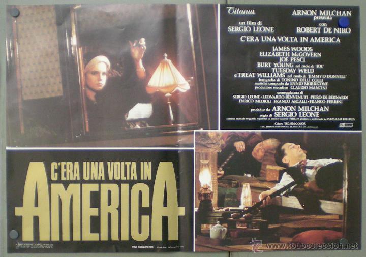 Cine: QO04 ERASE UNA VEZ EN AMERICA SERGIO LEONE ROBERT DE NIRO SET 10 POSTERS ORIGINAL ITALIANO 47X68 - Foto 9 - 45721632