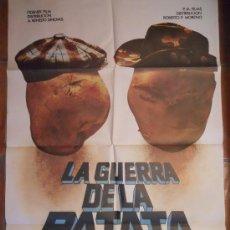 Cine: CARTEL CINE LA GUERRA DE LA PATATA 70 X 100. Lote 45723324