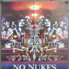 Cine: QO17 NUCLEARES NO / NO NUKES BRUCE SPRINGSTEEN JACKSON BROWNE POSTER ORIGINAL ITALIANO 68X94. Lote 45726890