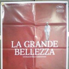Cine: QO19 LA GRAN BELLEZA PAOLO SORRENTINO POSTER ORIGINAL ITALIANO 100X140. Lote 147808132