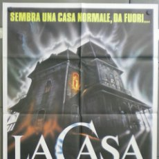 Cine: VD76 POSESION INFERNAL EVIL DEAD SAM RAIMI POSTER ORIGINAL ITALIANO 100X140. Lote 45740191
