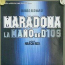 Cinema: QO22 MARADONA LA MANO DE DIOS FUTBOL POSTER ORIGINAL ITALIANO 33X70. Lote 45741881