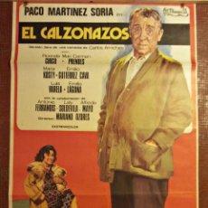Cine: CARTEL DE CINE ANTIGUO. EL CALZONAZOS. 1974. CARTELERA. Lote 45853411