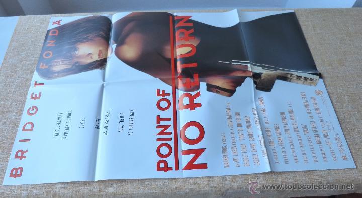 Cine: Point of No Return Póster original de la película, Original, Doblado, año 1993, Hecho en U.S.A. - Foto 2 - 45864960