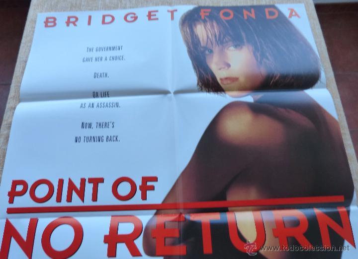 Cine: Point of No Return Póster original de la película, Original, Doblado, año 1993, Hecho en U.S.A. - Foto 3 - 45864960