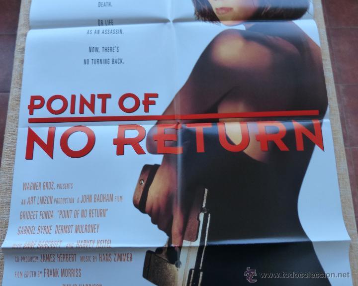 Cine: Point of No Return Póster original de la película, Original, Doblado, año 1993, Hecho en U.S.A. - Foto 4 - 45864960
