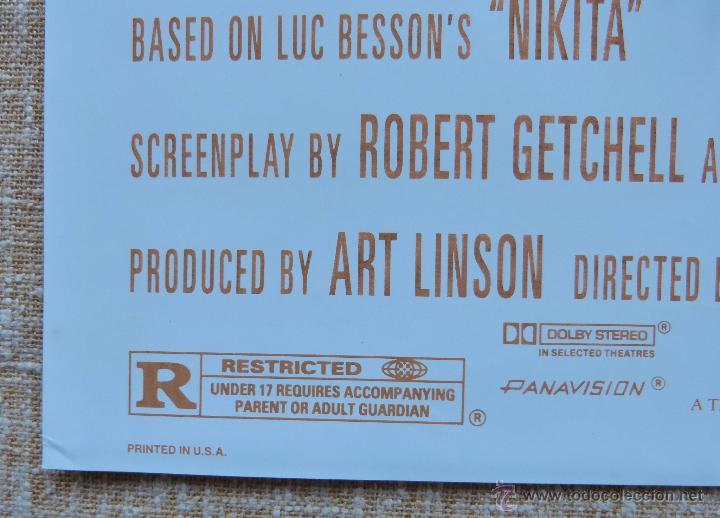 Cine: Point of No Return Póster original de la película, Original, Doblado, año 1993, Hecho en U.S.A. - Foto 7 - 45864960