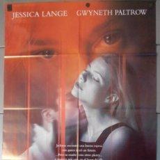 Cine: RELACION MORTAL,JESSICA LANGE CARTEL DE CINE ORIGINAL 70X100 APROX (9596). Lote 45956119
