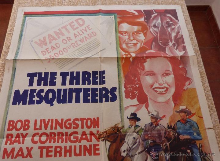 Cine: Call the Mesquiteers Póster original de la película, Original, Doblado, año 1938, Hecho en U.S.A. - Foto 3 - 45990383