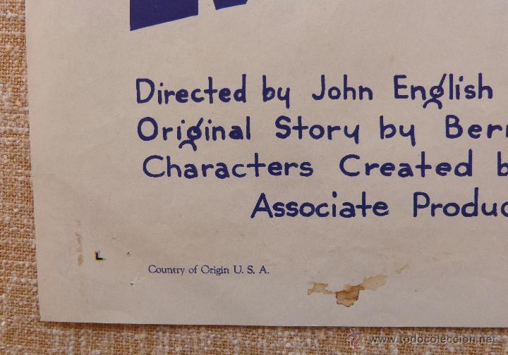Cine: Call the Mesquiteers Póster original de la película, Original, Doblado, año 1938, Hecho en U.S.A. - Foto 7 - 45990383