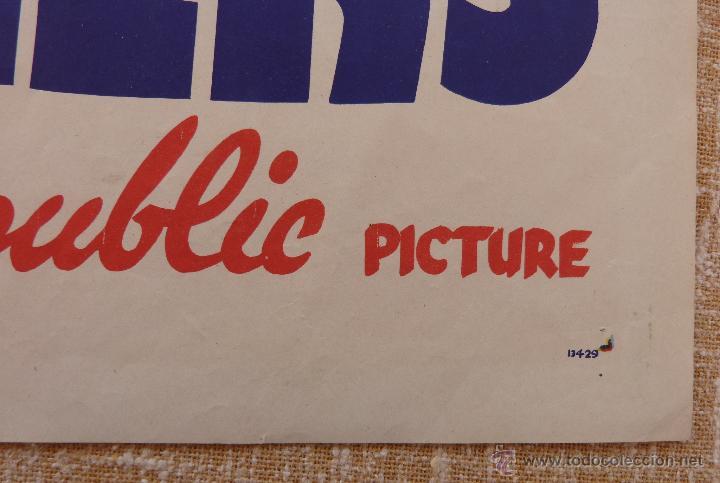 Cine: Call the Mesquiteers Póster original de la película, Original, Doblado, año 1938, Hecho en U.S.A. - Foto 8 - 45990383