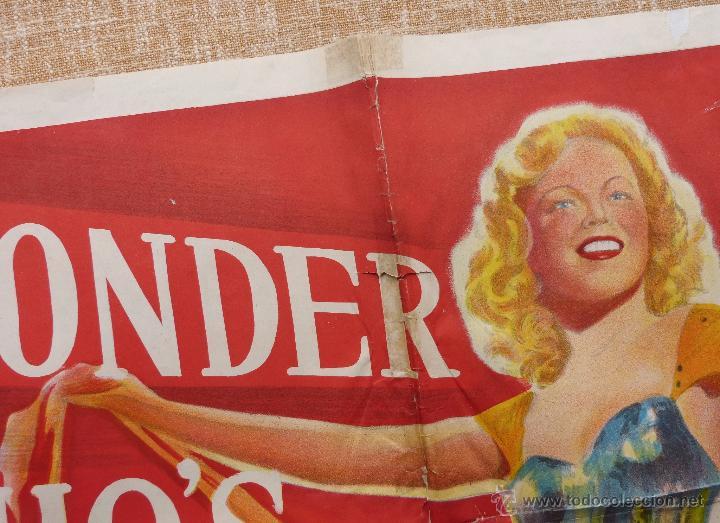 Cine: I Wonder Who´s Kissing Her Now Póster original de la película, Original, Doblado, año 1947, U.S.A. - Foto 10 - 46053327