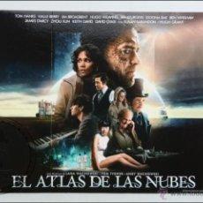 Cine: CARTÓN / CARTEL DE VIDEOCLUB - EL ATLAS DE LAS NUBES - TOM HANKS / HALLE BERRY- MEDIDAS 50 X 39,5 CM. Lote 46092314