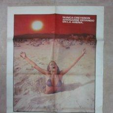 Cine: PLAYA SANGRIENTA, DAVID HUFFMAN, MARIANA HILL, JOHN SAXON, AÑO 1981. Lote 46181200