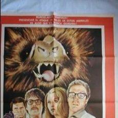 Cine: PÓSTER ORIGINAL LOS SOBREVIVIENTES ELEGIDOS (1979). Lote 46240279