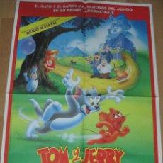 Cine: CARTEL CINE, TOM Y JERRY, LA PELICULA, 1992, C212. Lote 46256618