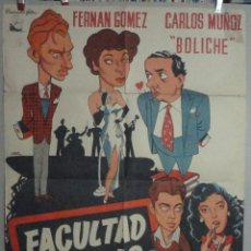 Cine: FACULTAD DE LETRAS *** EJEMPLAR DOS. Lote 46271875