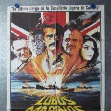Cine: LOBOS MARINOS, GREGORY PECK, ROGER MOORE, DAVID NIVEN. Lote 46285586