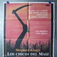 Cine: LOS CHICOS DEL MAIZ, PETER HORTON, LINDA HAMILTON, STEPHEN KING. Lote 46295491