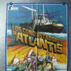 Cine: LOS CONQUISTADORES DE ATLANTIS, DOUG MCCLURE, PETER GILMORE, CYD CHARISSE. Lote 46304086