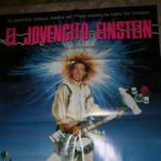 Cine: CARTEL DE CINE EL JOVENCITO EINSTEIN. Lote 47277491